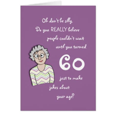 Birthday Cards For 60 Year Funny 60th Birthday Cards Memes