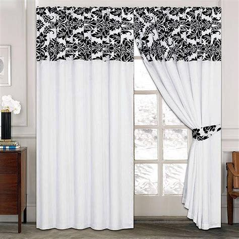 window curtain luxury damask curtains pair of half flock pencil pleat