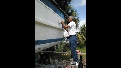 boat paint cost how to paint fiberglass youtube