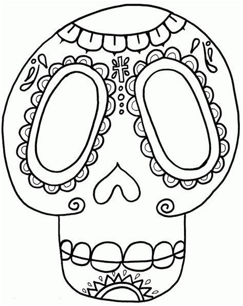 dead rat coloring page cool skull design coloring pages 508698