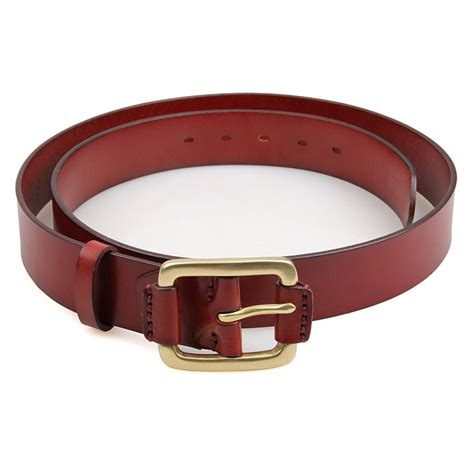 Handcrafted Leather Belt - handmade leather belt