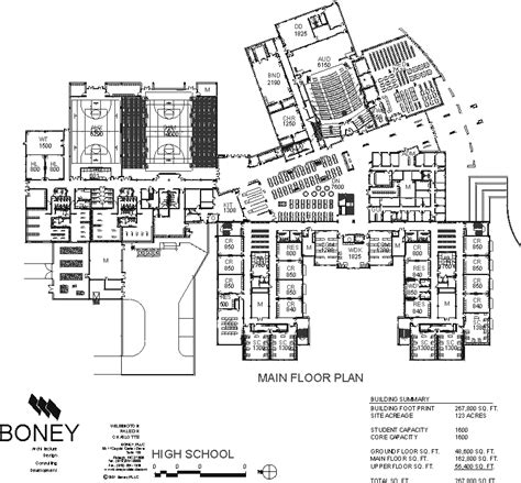 high school floor plan knightdale area high school