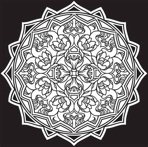 mandala stained glass coloring books dover stained glass coloring pages coloring page 1 2
