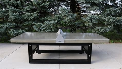 concrete ping pong table outdoor concrete ping pong tennis table with steel base