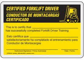 forklift operator certification card template forklift license application forklift license