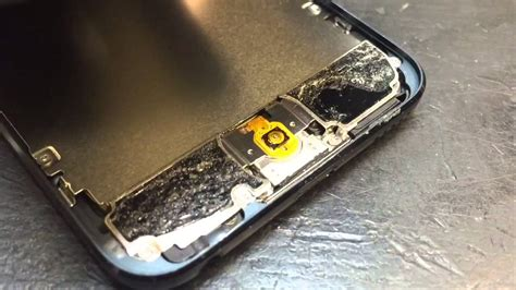 repairing ipod touch 5th home button problem