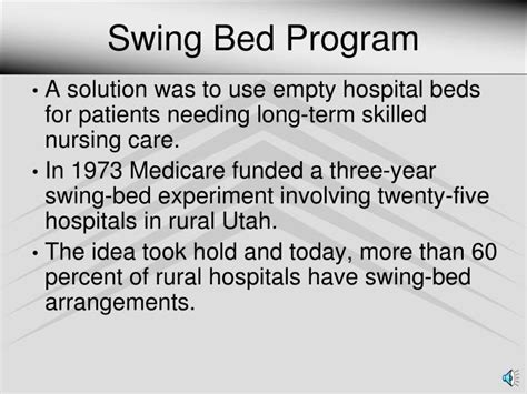 swing program ppt rural health clinic powerpoint presentation id 2807619