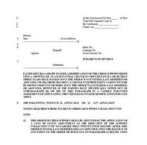 Divorce Decree Template by 40 Free Divorce Papers Printable Template Lab