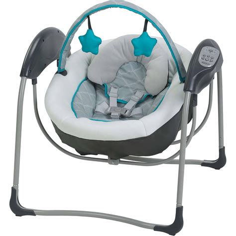 graco swing uk graco glider lite baby swing finch ebay