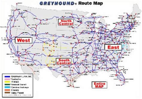 greyhound usa road map pin greyhound route map image search results on