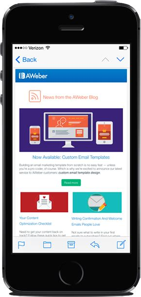 email layout mobile 4 email marketing best practices to stay relevant in 2016