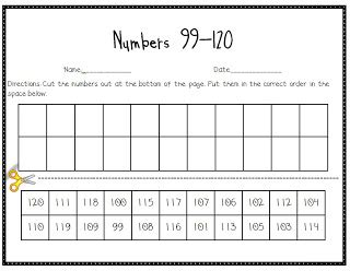 Counting To 120 Worksheets by That Pesky Number 110 Of The Grade Jungle