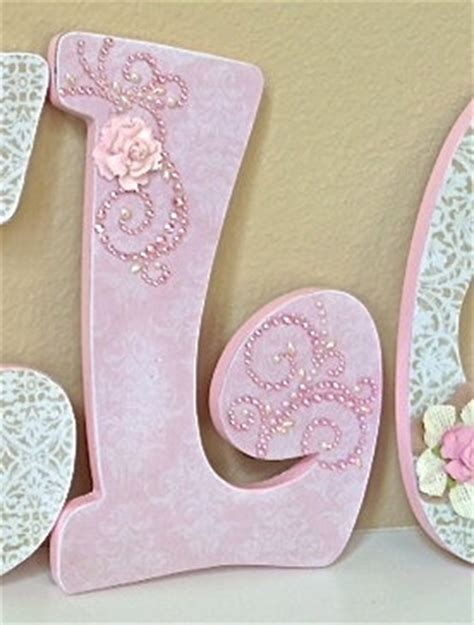 Decorative Letters For Nursery Nursery Letters Baby Name Custom Nursery Room Decor Any Color Any Theme The Rugged Pearl