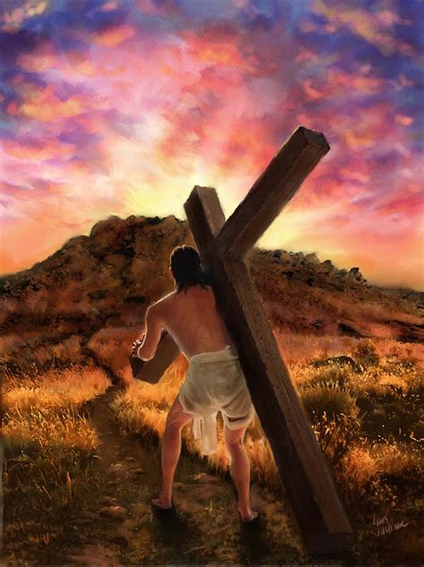 jesus carrying the cross tattoo pin jesus carrying the cross image search results