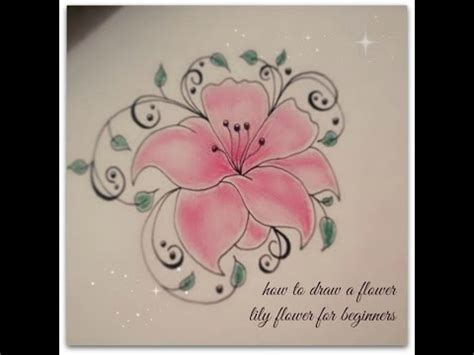 how to tattoo for beginners how to draw flowers for beginners flower