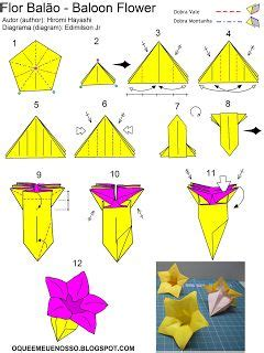 Origami Balloon Flower - 17 best images about origami flowers on