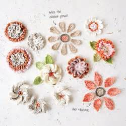 Nina Interiors Appliqu 233 Flowers Crochet Pattern For British Flower Week