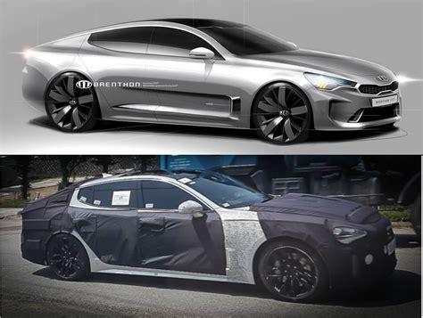 Kia Gt Coupe Kia Stinger Rwd Sports Saloon Coming Next Year Page 2