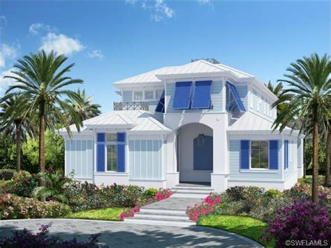 Florida Style Homes old florida style key west home new construction in olde