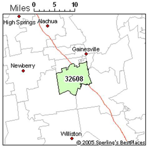 zip code map gainesville fl best place to live in gainesville zip 32608 florida