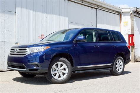 2013 toyota highlander our review cars