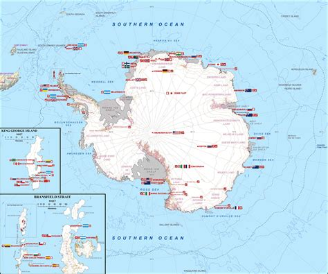 map stations research stations in antarctica
