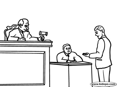 coloring book for lawyers lawyer coloring page