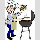 Funny Chef Clipart Funny guy cooking on the