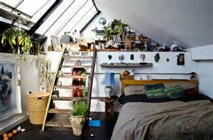 Attic Bedrooms moon to moon the home of artist louis masai michel