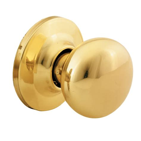 Dummy Door Knobs by Shop Yale Security New Traditions Horizon Polished Brass