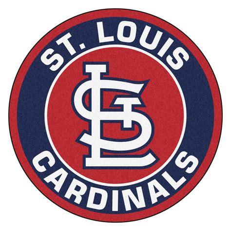 cardinals rug st louis cardinals logo roundel mat 27 quot area rug