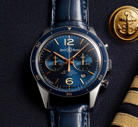 Bell And Ross introducing the bell ross vintage br aeronavale dress