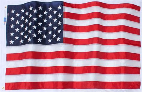 An American Buy American Flag Highest Quality Outdoor Fully Sewn Embroidered Federal Flags