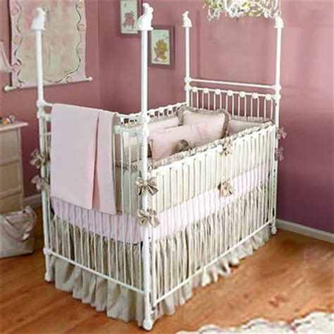 Iron Baby Bed by Corsican Iron Crib With Choice Of Finials Free Shipping