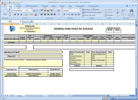 tutorial excel nomina 2014 generaci 243 n de n 243 mina herramientas en excel para