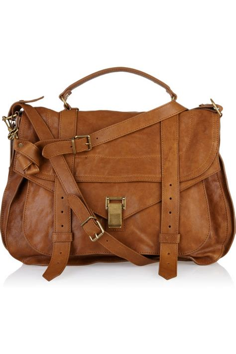 brown leather bags proenza schouler ps1 large caramel brown leather travel bag all handbag fashion