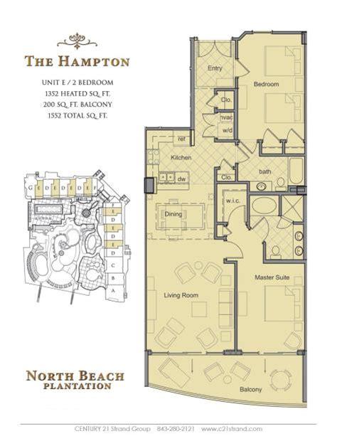 trademark homes floor plans north beach plantation floorplans