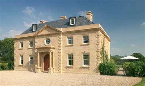 new build georgian inspired house leaf architecture georgian style homebuilding renovating