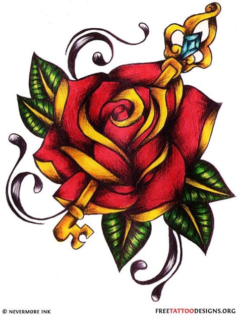 rose and key tattoo meaning 1000 images about tat ideas on wolves