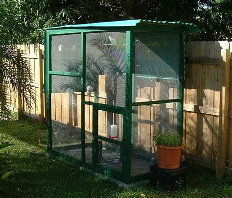 outdooraviarybirdcages multiple birds  housing