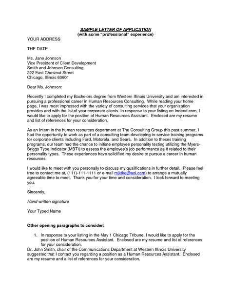 Professional Business Introduction Letter Sle application letter for professional 28 images 46