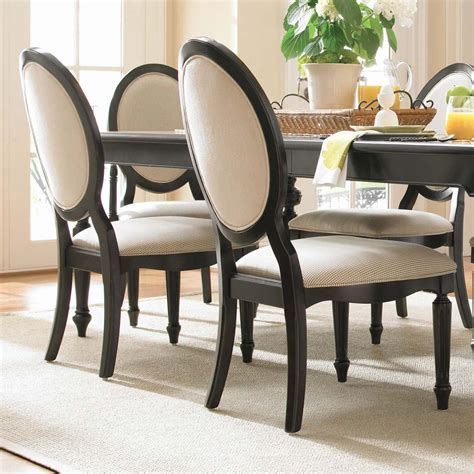 Dining Table And Upholstered Chairs Stylish Upholstered Dining Chairs For Easy Design And Decor Traba Homes