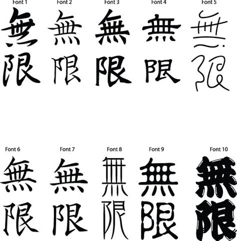 is infiniti japanese japanese kanji symbol for infinity kanji