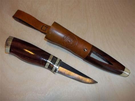 Handmade Scandinavian - custom handmade puukko nordic scandinavian knife deer