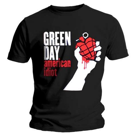 T Shirts Green Day Gdy13 green day american idiot t shirt musictoday superstore