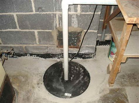 basement sump location