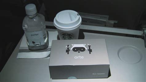 porter airlines bombardier q400 coach seat 14d