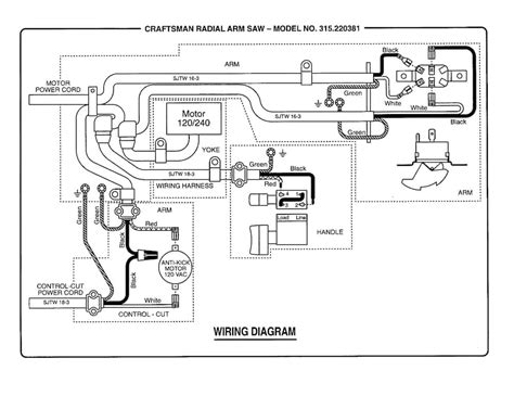 wiring diagram for delta radial arm saw wiring diagram