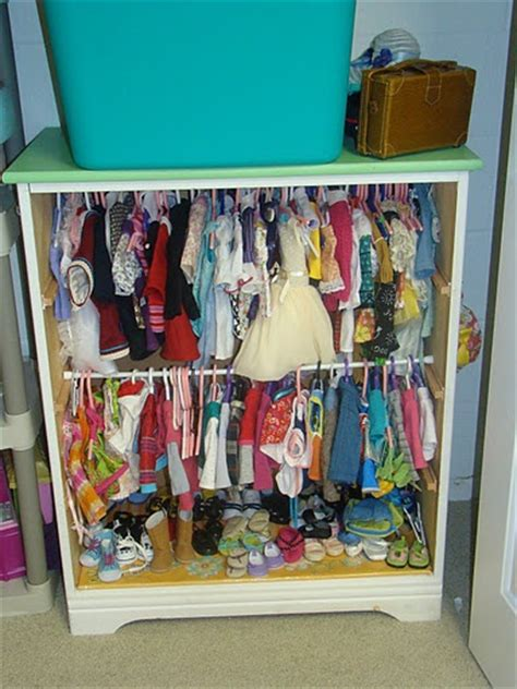 doll closet from bookshelf american dolls