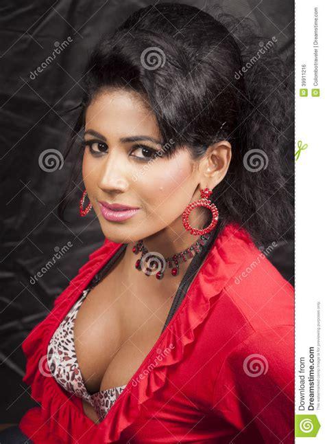 close up of black female models 2014 srilankan girl stock photo image 39911216